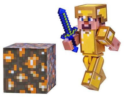 Фигурка Minecraft Steve in Gold Armor 16488