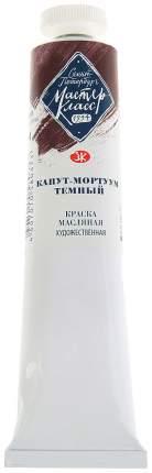 Масляная краска Невская Палитра Мастер-класс капут-мортуум темный 46 мл
