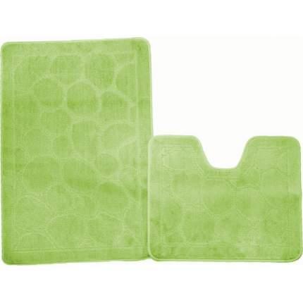 Коврик 60*100 зеленый Standart (2предмета)