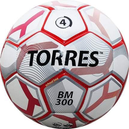 Футбольный мяч Torres BM 300 Любительский №4 white/red