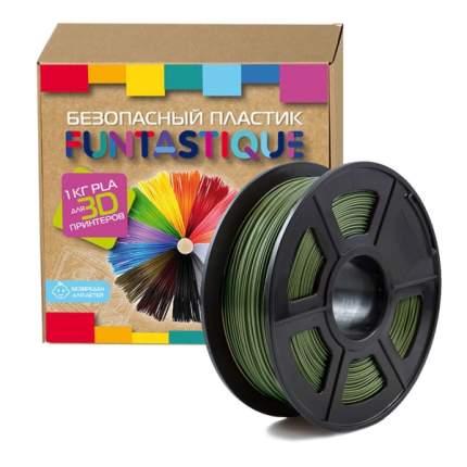 Пластик для 3D-принтера Funtastique PLA-1KG-HK PLA Green