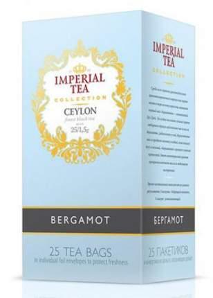 Чай черный бергамот Imperial tea collection Ceylon Bergamot 25 пакетиков