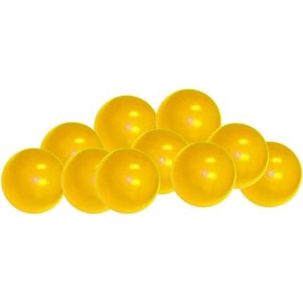 Шарики для манежа-бассейна Leco диаметр 7,5 см желтые, 320 шт.