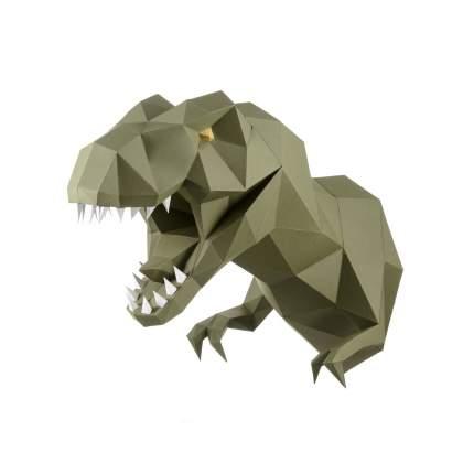 Трофейная голова PAPERRAZ Динозавр ЗАВР (васаби)