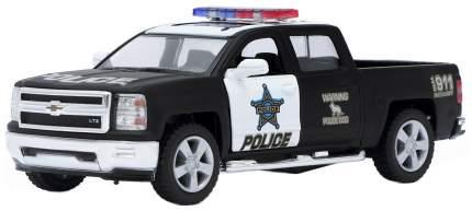 Машина инерционная Kinsmart Chevrolet Silverado Police, масштаб 1:46, открываются двери