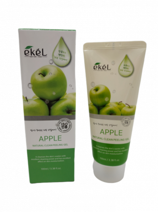 Пилинг-гель скатка для лица с экстрактом яблока Ekel Peeling Gel Apple 100 мл