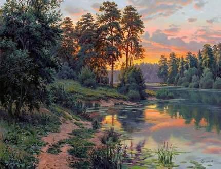 Картина по номерам Molly Краски вечера, 40x50