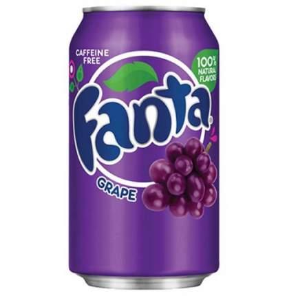 Напиток Fanta grape жестяная банка 0.36 л