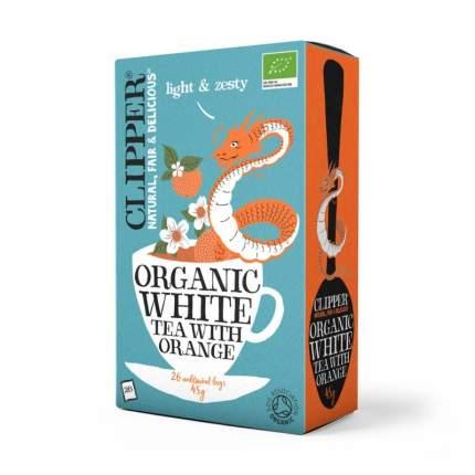 Чай белый Clipper с апельсином органик 26 пакетиков