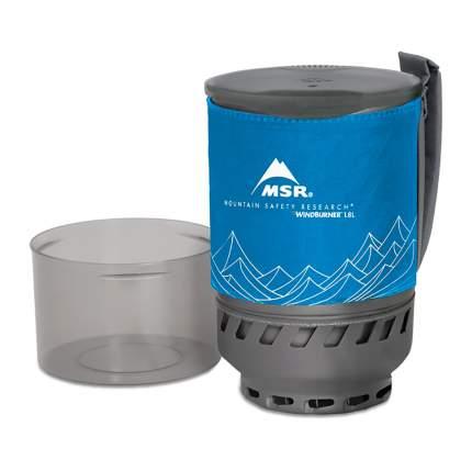 Туристическая кастрюля MSR Windburner алюминиевая 1,8 л