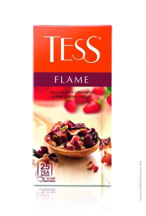 Чай черный Tess flame 25 пакетиков
