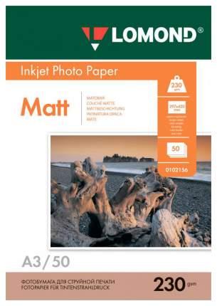 Фотобумага Lomond Photo Paper Matt 0102156 Белый
