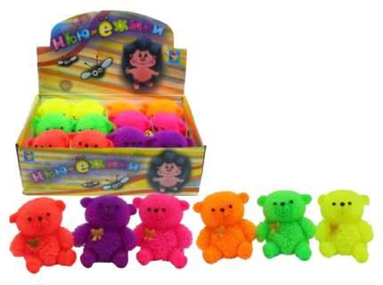 Мягкие игрушки животные 1Toy Нью-ежики Медвежонок со светом, 9 см Т10524