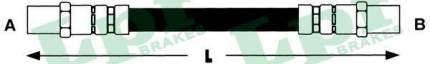 Шланг тормозной системы Lpr 6T46130