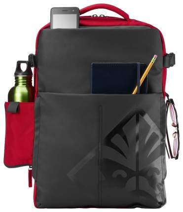 Сумка для ноутбука HP Omen Black Red 4YJ80AA