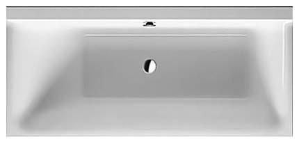 Акриловая ванна Duravit 170х75 без гидромассажа правая