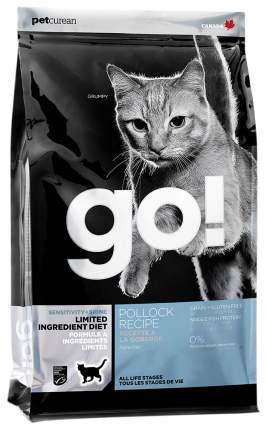 Сухой корм для кошек и котят GO! SENSITIVITY + SHINE, рыба, 3,63кг