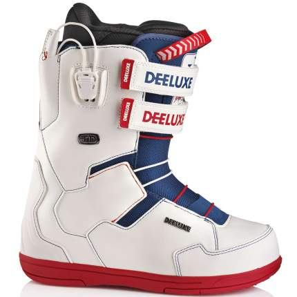Ботинки для сноуборда Deeluxe The Brisse Id PF 2019, white, 28