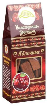 Вологодские хрустики яблочные Вологодская мануфактура с вишней 60 г