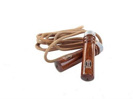 Скакалка Jabb JE-3043 коричневая 270 см