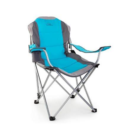 Кресло складное 3-позиционное FC-02 синий N/S