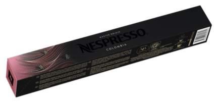 Кофе в капсулах Nespresso Colombia 10 капсул