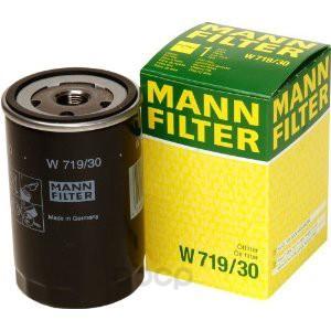 Фильтр масляный двигателя MANN-FILTER W71930