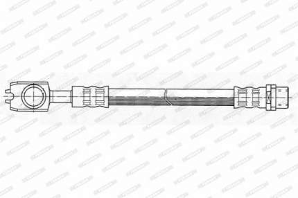 Шланг тормозной FERODO FHY2458