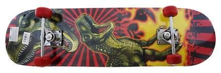 Детский скейтборд Shantou Gepai T-Rex attack 635083 Черный, красный