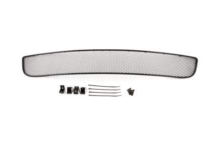 Сетка на бампер внешняя arbori для CITROEN C4 2013-2019, черная, 15 мм