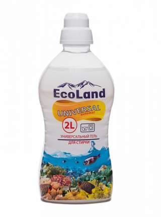 Гель для стирки EcoLand универсальный 2 л