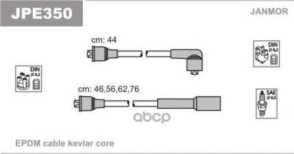 Комплект проводов зажигания JANMOR JPE350