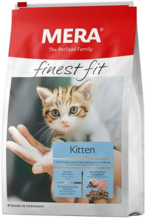 Сухой корм для котят MERA Finest Fit Kitten, курица, 10кг