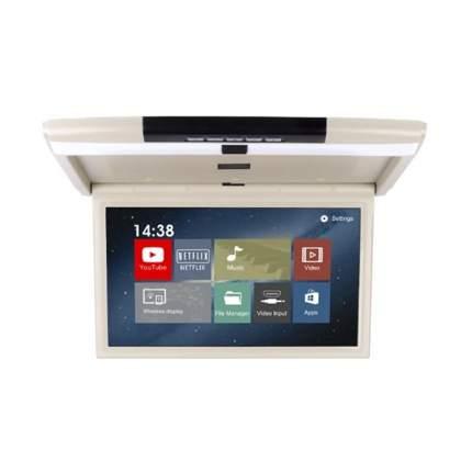Монитор в автомобиль ERGO Electronics ER17AND (бежевый)