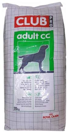 Сухой корм для собак ROYAL CANIN Club pro Adult CC, курица, 20кг