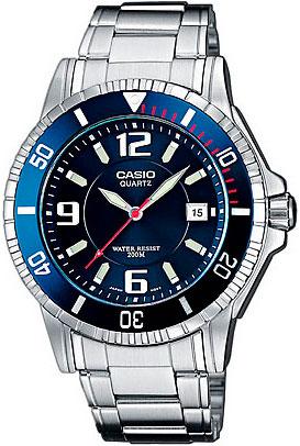 Наручные часы кварцевые мужские Casio Collection MTD-1053D-2A