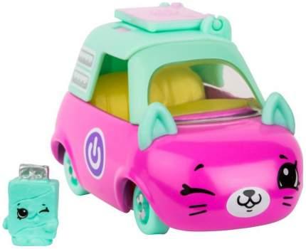 Машинка пластиковая Cutie Cars Laptop limo с фигуркой Shopkins, 3 сезон