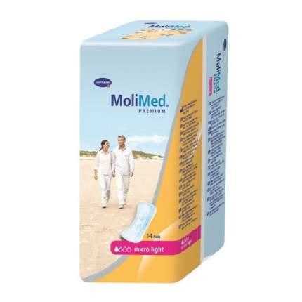 Урологические прокладки Molimed Premium micro light 14 шт.