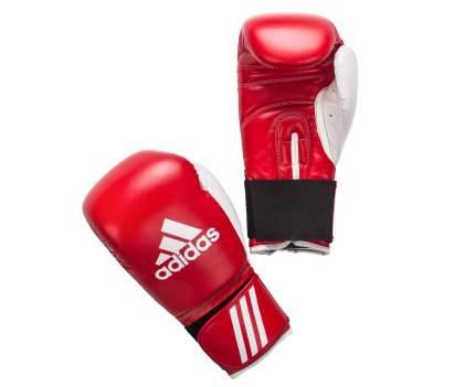 Боксерские перчатки Adidas Response красно-белые 14 унций