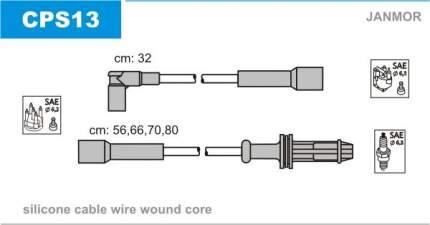 Комплект проводов зажигания JANMOR CPS13