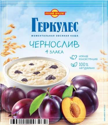 Каша овсяная моментальная Геркулес Русский продукт с черносливом 4 злака 35 г