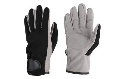 Перчатки мужские Mikado UMR-05, серые/черные, XXL
