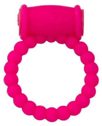 Эрекционное кольцо A-toys из силикона розовый