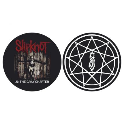 Слипмат для проигрывателя виниловых пластинок (Slipknot - The Gray Chapter)