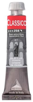 Масляная краска Maimeri Classico красный квинакридон 20 мл