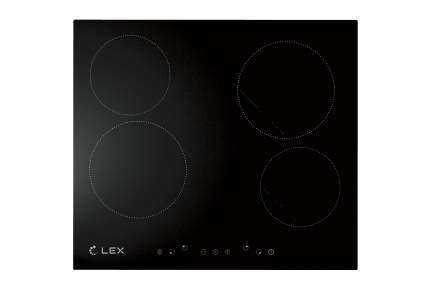 Встраиваемая варочная панель электрическая LEX EVH 640 BL Black