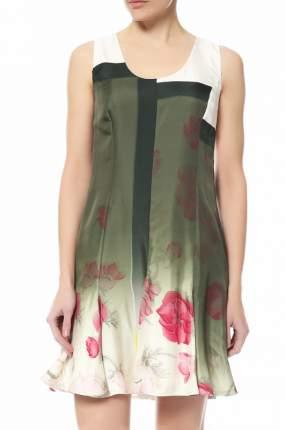 Платье женское Salvatore Ferragamo зеленое 40