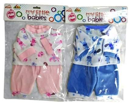 Одежда для куклы Shantou Gepai My Little Babies костюм Друзья, 39-45 см
