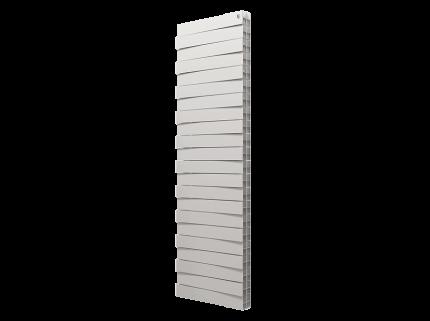 Радиатор биметаллический Royal Thermo PianoForte Tower Bianco Traffico 1457x591