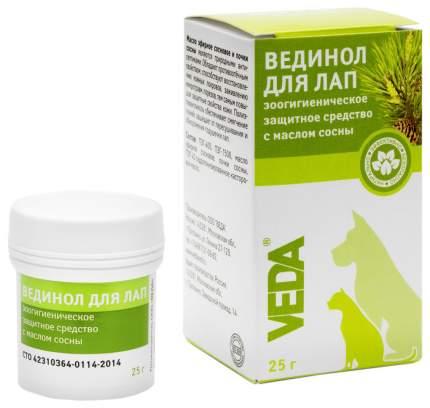 Защитный крем для лап Veda Вединол, с маслом сосны, 25 г